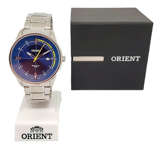 Relógio Masculino Social Orient Mbss1295 Original Nf-e Aço