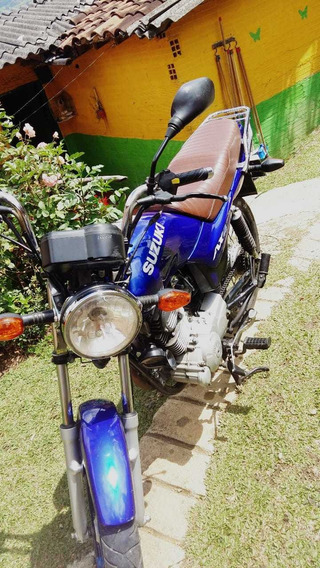 Vendo O Cambio Moto Suzuki Ax4 Modelo 2012