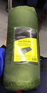 Saco De Dormir Paragon Verde 250 Grs