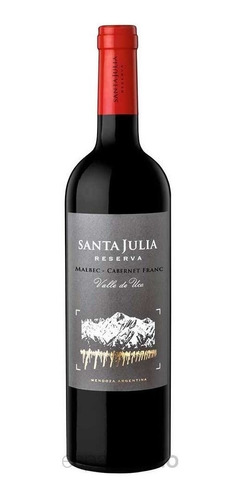 Vino Santa Julia Reserva Malbec Oferta X 6