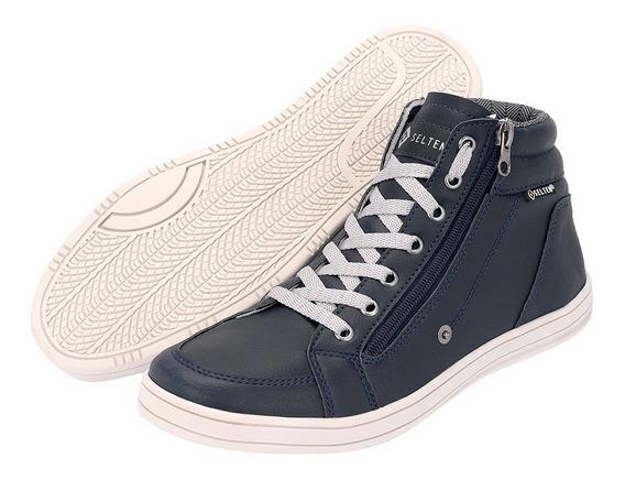 Bota Botinha Casual Masculina Sneaker Ziper Frete Gratis