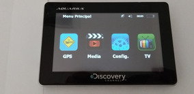 Gps Discovery Channel Aquarius - Semi-novo - Funcionando