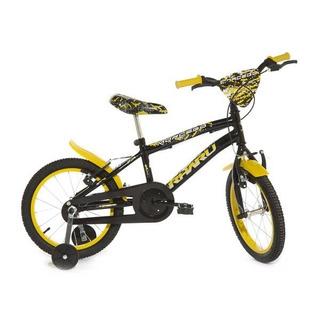 Bicicleta Infantil Aro 16 Rharu Tech - Pronta Entrega