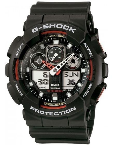 Relógio Casio Ga-100-1a4dr G-shock Militar Sport - Refinado