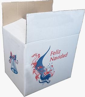 Caja Navideña 375x280x320