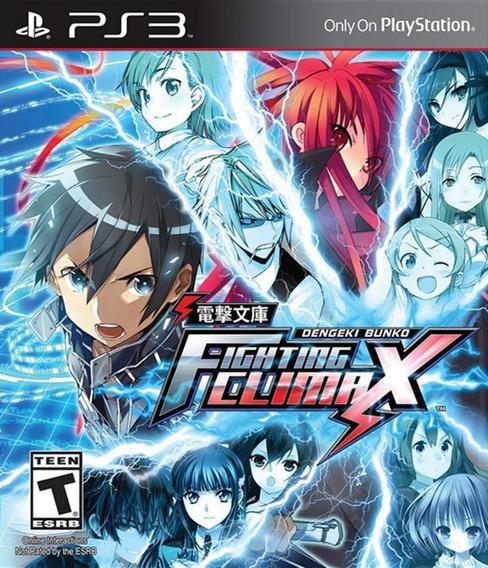 Dengeki Bunko: Fighting Climax Ps3 Mídia Digital