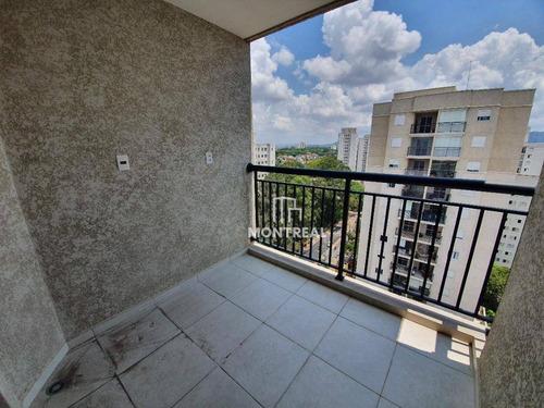 Apartamento Com 2 Dormitórios À Venda, 50 M² Por R$ 352.000,00 - Pirituba - São Paulo/sp - Ap1969