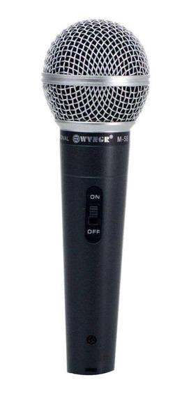 Microfone WVNGR M-58 dinâmico