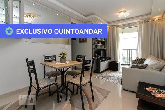 Apartamento No 13º Andar Mobiliado Com 2 Dormitórios E 2 Garagens - Id: 892958287 - 258287