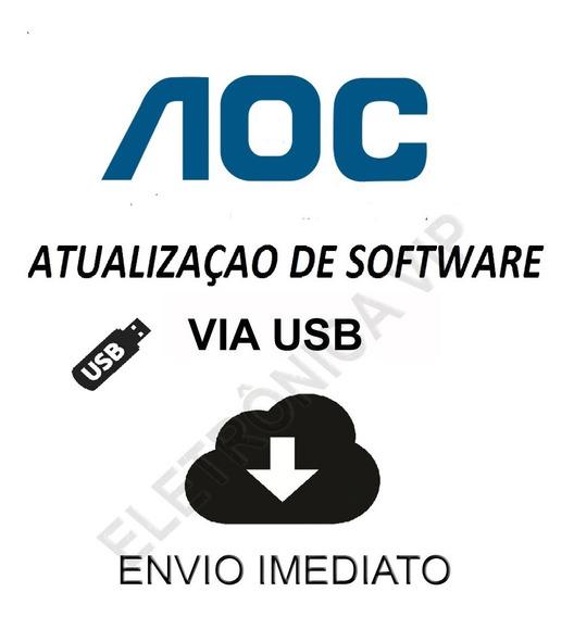 Atualização De Software Para Tv Aoc Le40f1465 Barcode 01b