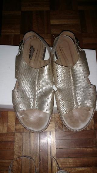 Sandalias Doradas Febo 39