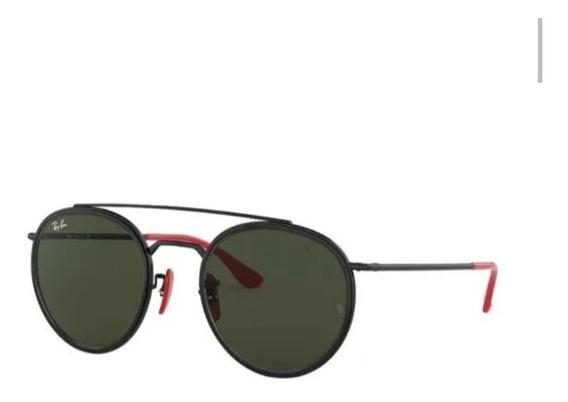 Óculos De Sol Ray Ban Scuderia Ferrari 3647m Lançamento 2020