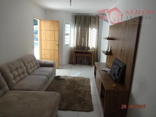Sobrado Para Venda Em Taboão Da Serra, Cidade Intercap, 2 Dormitórios, 2 Suítes, 2 Vagas - So0576_1-1010063