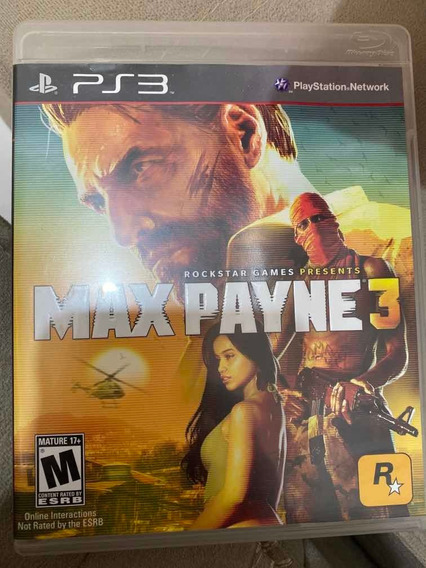 Jogo Ps3 Max Payne