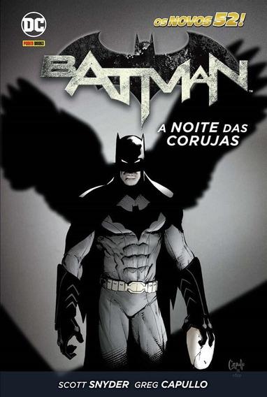 Batman: A Noite Das Corujas - Dc Comics