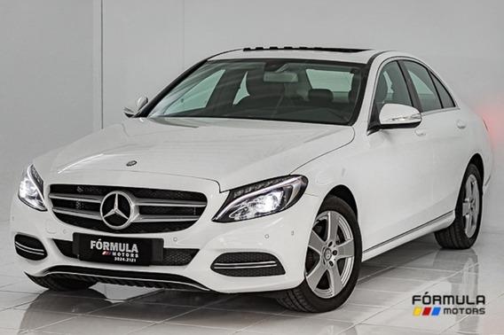 Mercedes Benz C200 Avantgarde 2.0 Tb 184cv 2015 Branca