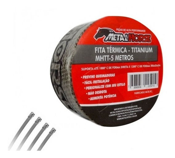 Fita Térmica Termotape Titanium Mhtt 5 Metros Metal Horse
