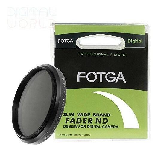 Filro Fotga Nd2-nd400 Para Todas Lente Com Boca De 58mm