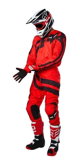 Conjunto Equipo Adulto 180 Cota Rojo Motocross Atv Fox