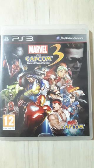 Marvel Vs Capcom 3 Ps3 Física