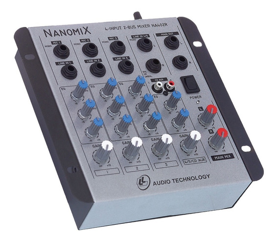 Mesa De Som Envio Hoje Nanomix Ll Audio Na402r C/nota Fiscal