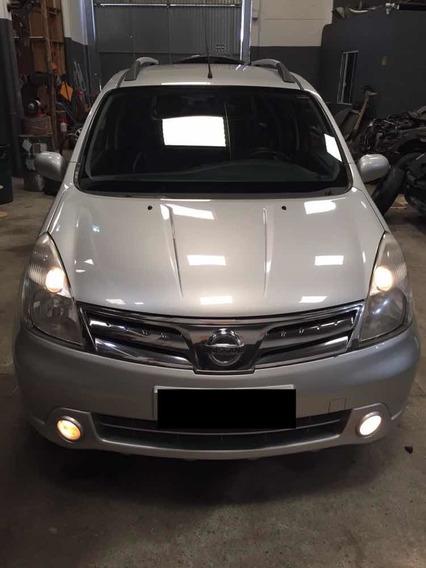 Nissan Livina Sl 1.8 16v Flex Aut. Bancos De Couro Impecável