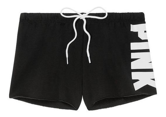 Short Negro Pink Vertical Blanco Xs M Victoria