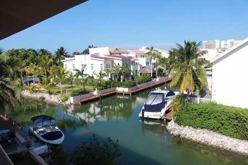 Departamento De Venta En Cancún Isla Real Con Vista A La Laguna