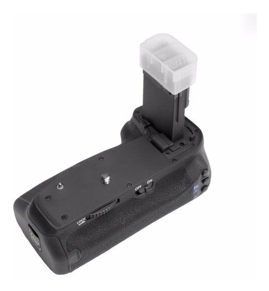 Grip Para Canon Eos 70d E 80d - Uso Horizontal Ou Vertical