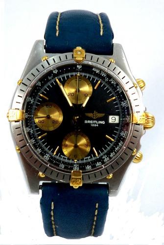 Breitling   Chronomat  - Automático - Aço E Ouro