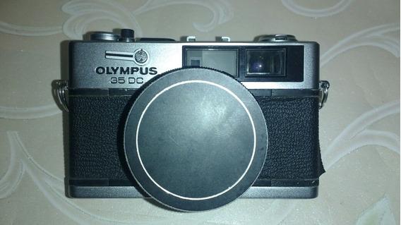 Câmera Olimpus 35 Dc Japan Rara