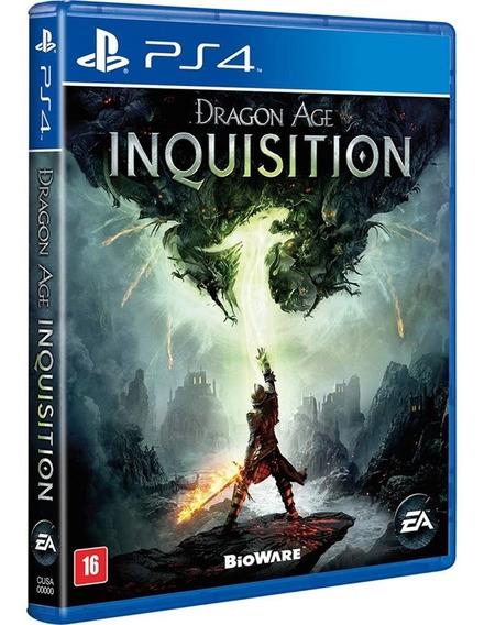 Jogo Dragon Age Inquisition Ps4 Midia Fisica Lacrado Br Rpg