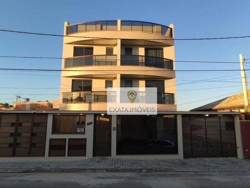 Imagem 1 de 22 de Cobertura Com Vista Mar, Costazul/rio Das Ostras. - Co0042