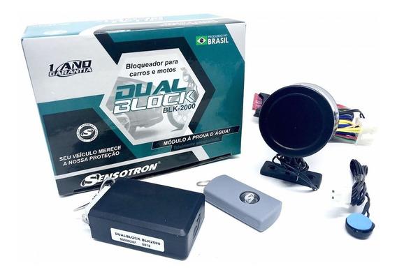 Bloqueador Dualblock Para Carros E Motos Sensotron