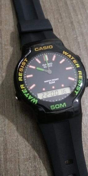 Relógio Casio Aw-35 Japones Antigo Muito Bonito Funcionando
