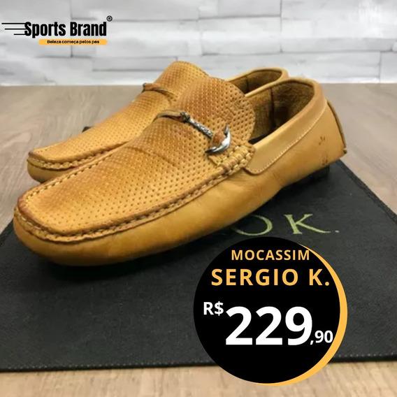 Sapato Mocassim Da Marca Sergio K.