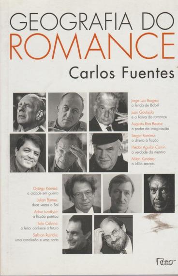 Livro Geografia Do Romance Carlos Fuentes