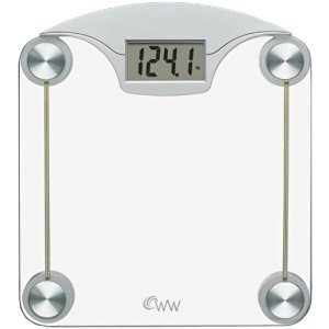 Weight Watchers Por Conair Digital Escala De Cristal Con Ace