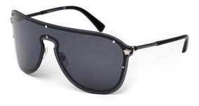 Lentes Versace Frenergy Visor Ve2180 Unisex Original Black