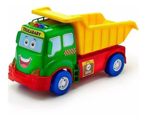 Camión De Arrastre Trucababy Luz Sonido En Bolsa Rivaplast