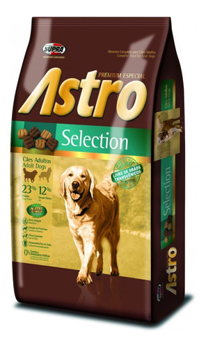 Imagen 1 de 2 de Comida Perro Astro Selection 10k Con Regalo