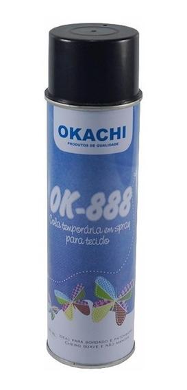 Spray Adesivo Temporário Antideslizante P/ Enfesto Okashi