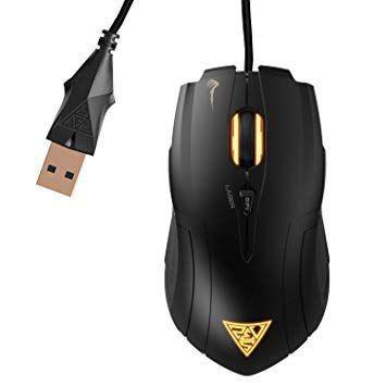 Mouse Gamer Gamdias Demeter Laser 3600dpi 6 Botões Gms5010