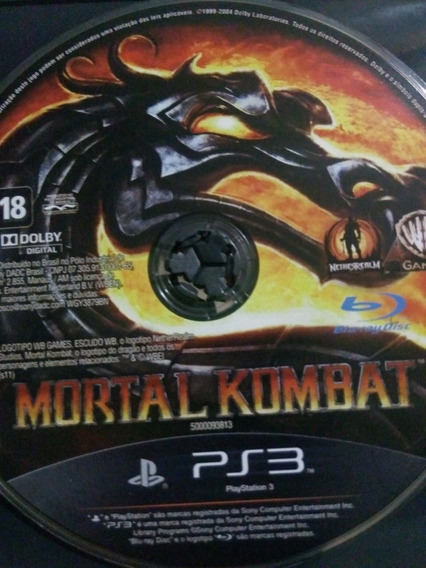 Mortal Kombat Ps3 Original , A Pronta Entrega