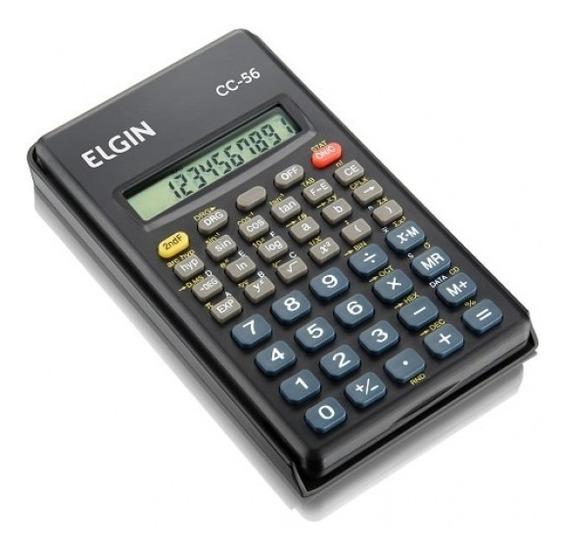 Calculadora Científica 56 Funções Cc56 Elgin