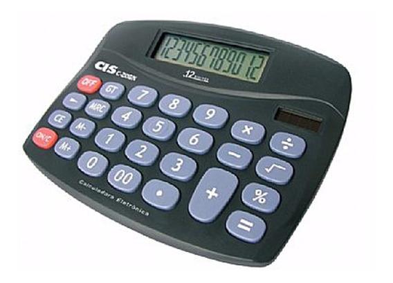 Calculadora De Mesa 12 Díg C-206n - Cis