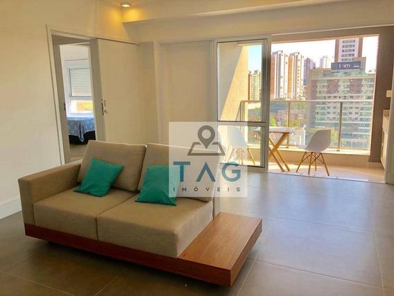 Apartamento Mobiliado Com 2 Dormitórios Para Alugar, 92 M² , Pacote Locação, 7.000/mês - Cambuí - Campinas/sp - Ap0410