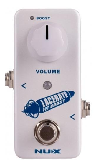Pedal Nux Lacerate Fet Boost Volume + Nf E Garantia