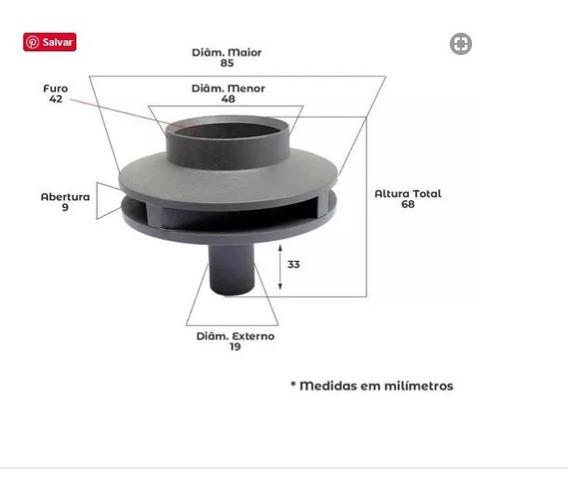 Rotor De Bomba D´agua Piscina Igui 1/2 Cv