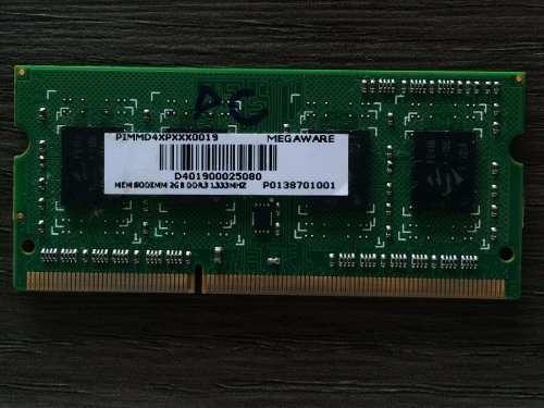 Memoria Megaware 2gb Ddr³ Pimmd4xpxxx0019 Samsung R440 *